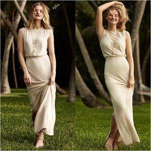 Anthro Villette Maxi Dress